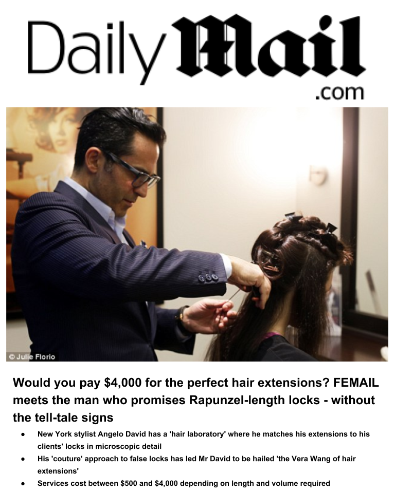FEMAIL meets the man who promises Rapunzel-length locks - without the tell-tale signs